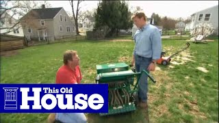 How to Reseed a Lawn - This Old House
