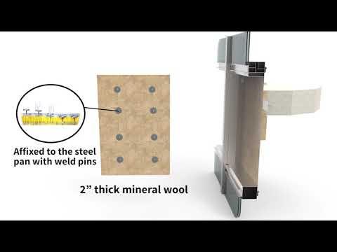 STI Curtain Wall System 1038 (CW-D-1038)