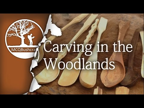 Wood Carving & Crafts: Alder Spoon & Kuksa