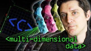 Multi-Dimensional Data (as used in Tensors) - Computerphile