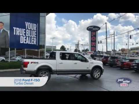 The New 2018 Ford F-150 Turbo Diesel King Ranch Walkaround