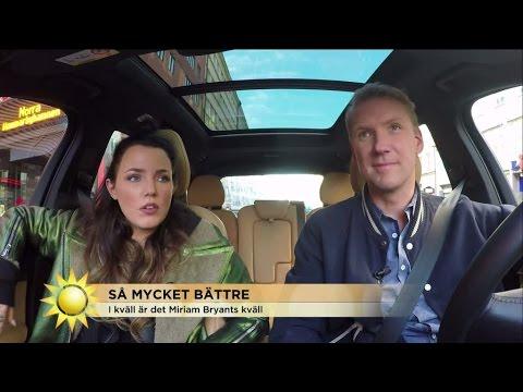 """Miriam Bryant: """"Man ska inte låtsas som man inte är knäpp i huvudet"""" - Nyhetsmorgon (TV4)"""