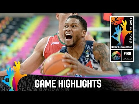 USA v Mexico - Game Highlights - Round of 16 - 2014 FIBA Basketball World Cup