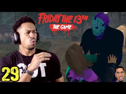 BARNEY JASON IS TOO LIT!! Friday the 13th Gameplay #29