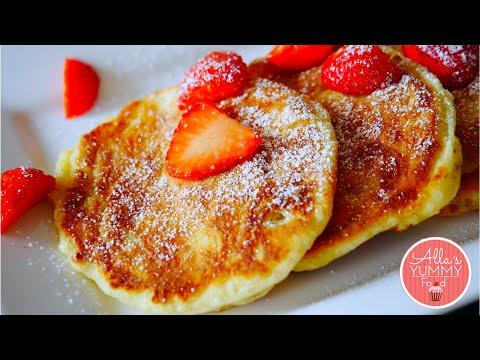 How to make Cottage Cheese Pancakes (Russian Syrniki Recipe) - Сырники из творога