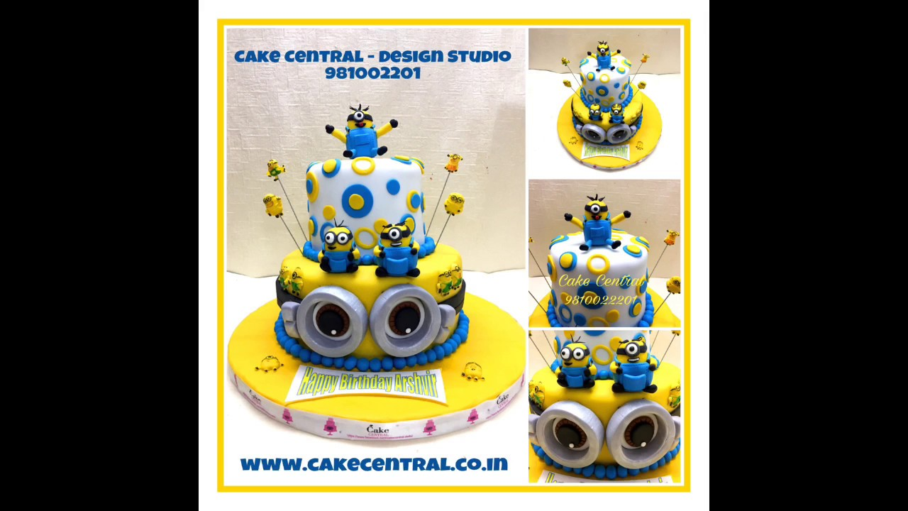 Minion Cake Delhi Despicable Me Minions Cake Delhi Minion
