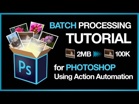 Tutorial: Batch Image Processing in Photoshop using Automator