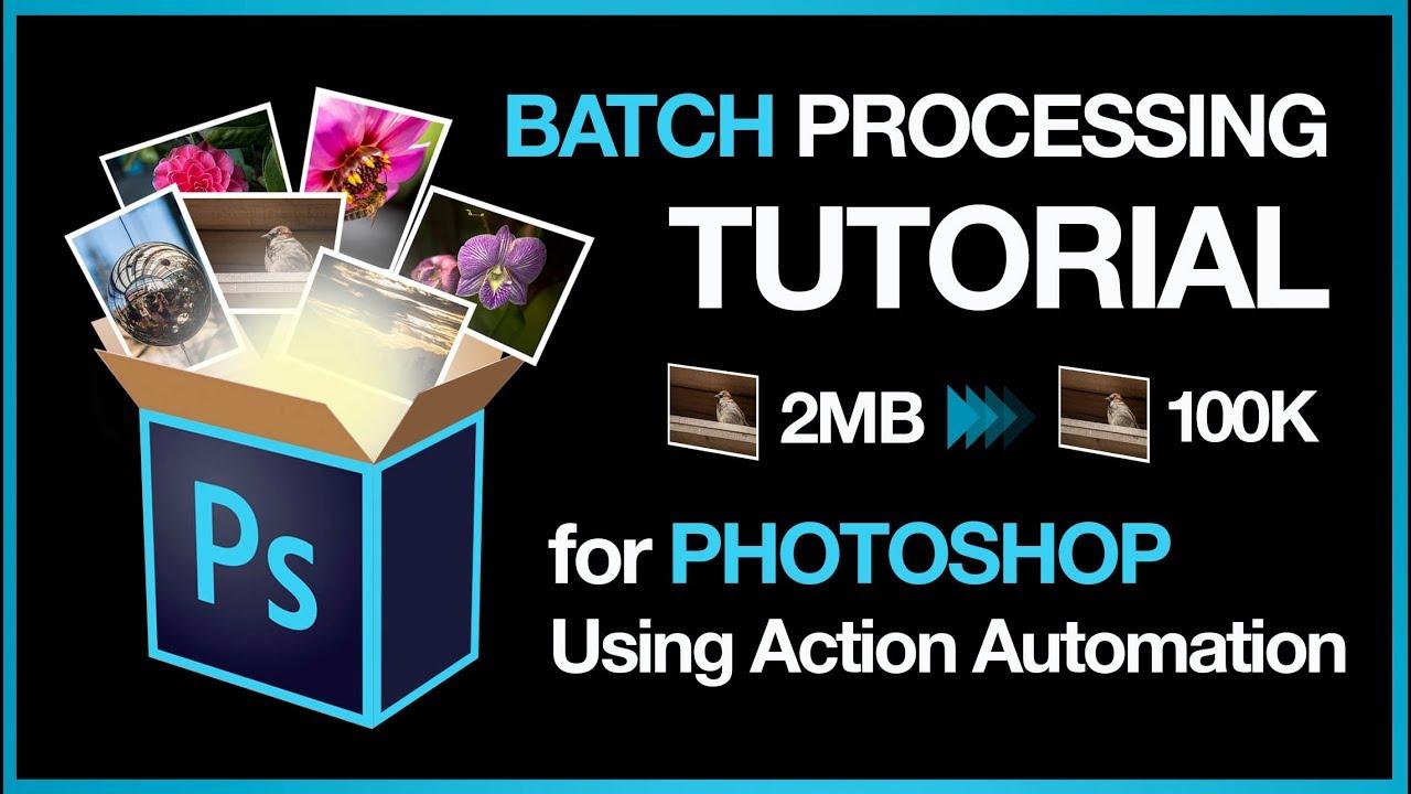 How to batch edit in photoshop | adobe photoshop | pinterest.
