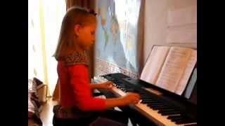 Катюша, после 20 уроков на пианино!