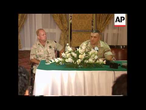 Egypt - US General Zinni on situation in Iraq