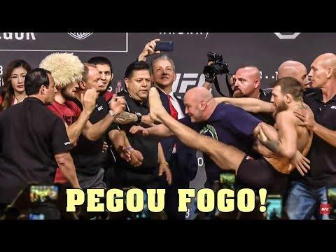 UFC 229 AO VIVO !! - Conor McGregor VS Khabib Nurmagomedov