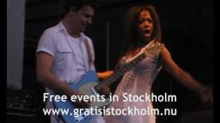 LaGaylia Frazier - Simply the best (Tina Turner) - Live at Kungsträdgården, 5(6)