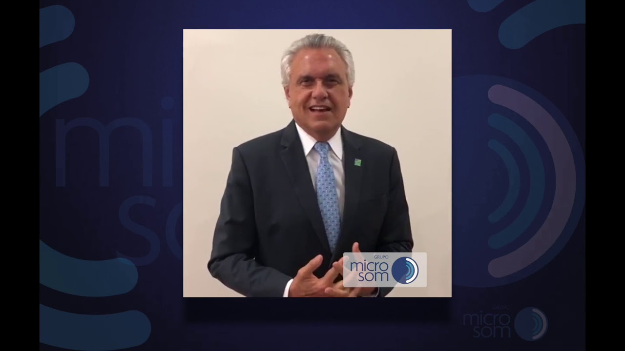 Ronaldo Caiado fala sobre a necessidade do uso de aparelho auditivo