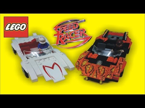LEGO SPEED RACER 8158 PRODUCT BUILD REVIEW