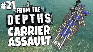 from the depths 21 aircraft carrier assault