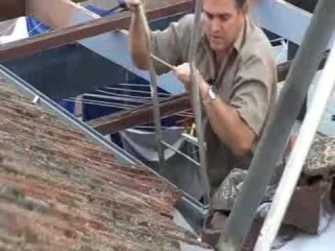 Solarventi auf www luftkollektor zeigt die Markisen auf dach montage