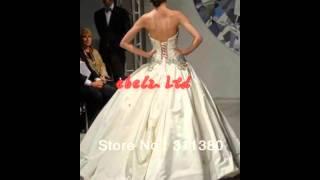 Новые модные великолепные бальное платье из бисера пнина Tornai свадебные платья