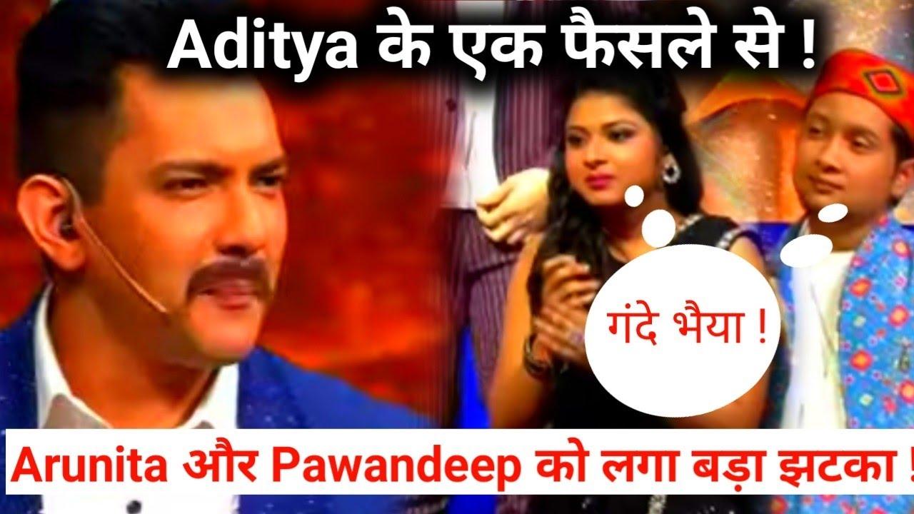 Indian Idol Season 12 Host Aditya ने लिया बड़ा फैसला जिससे Arudeep को लगा बड़ा झटका !!!