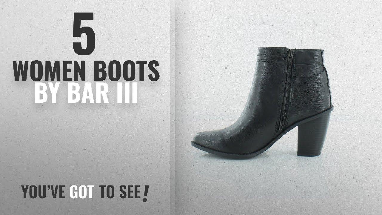 bff63dd77c96 Top 10 Bar Iii Women Boots  2018   Bar III Womens Dove Closed Toe Ankle  Fashion Boots