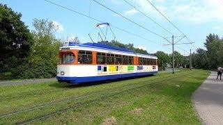 Straßenbahn Darmstadt - Sonderverkehr mit ST 7 & Depot Kranichstein (Bahnwelttage 2014)