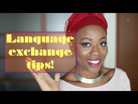 Language exchange tips