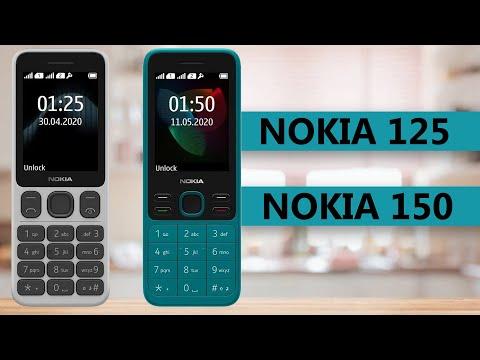 Nokia 125 VS Nokia 150 2020 Specifications Comparison
