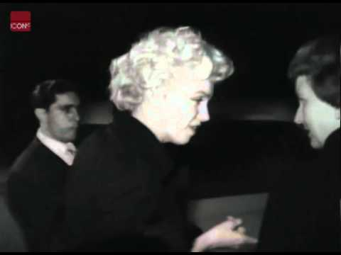 Marilyn Monroe arrives in California