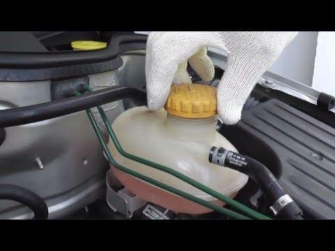 Opel Corsa Как поменять охлаждающую жидкость и какой антифриз заливать