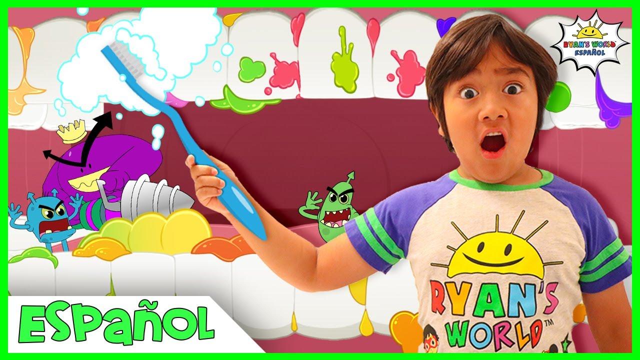 Cepille sus dientes historia para niños  El  Animación de dibujos animados para niños