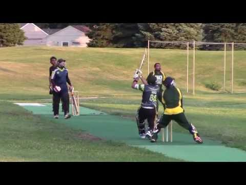 Villa Park vs Karachi Stars - Villa Park Batting - 2016 AQM Night T20
