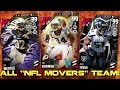 ALL NFL MOVERS TEAM! 99 OVR JOSH NORMAN, BRUCE IRVIN, & MORE! Madden Ultimate Team 16