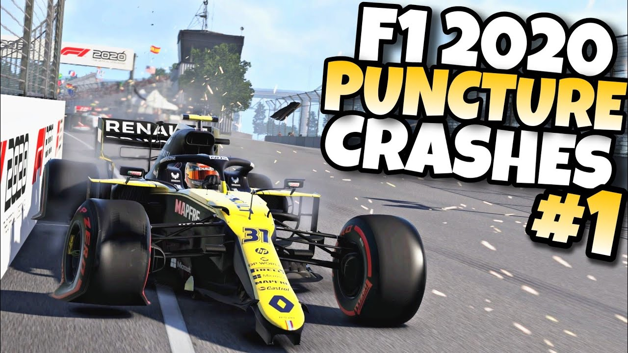 Download F1 2020 PUNCTURE CRASHES #1