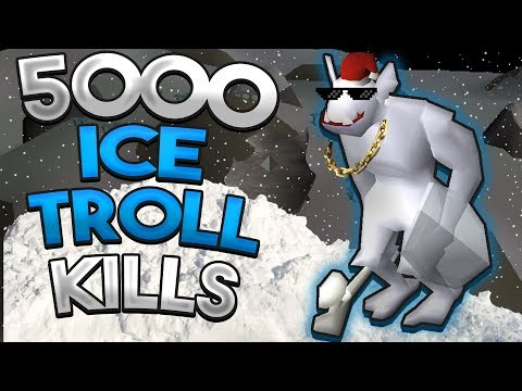 Loot From 5,000 Ice Trolls