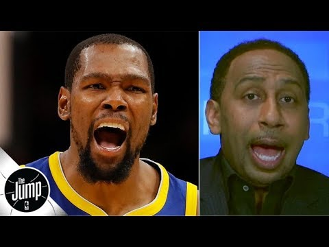 Stephen A. goes off on the Knicks for not offering Kevin Durant the max | The Jump
