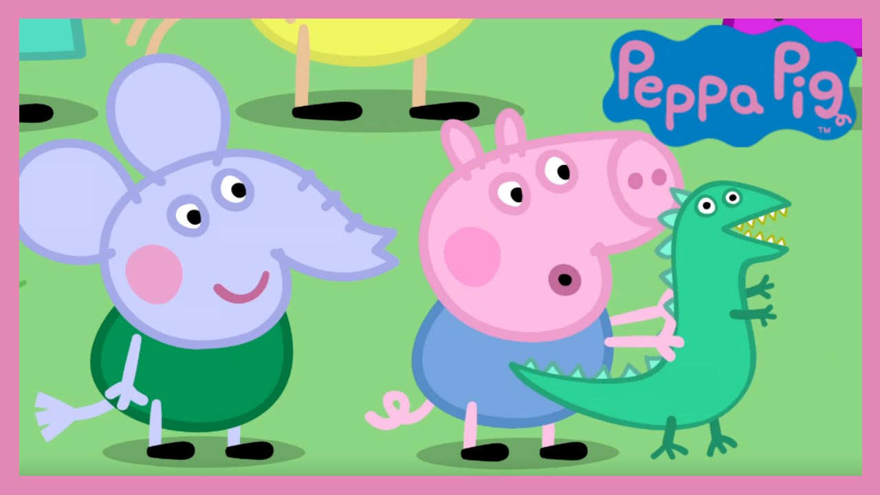 Peppa Pig Grampy Rabbit S Dinosaur Park Hd Youtube