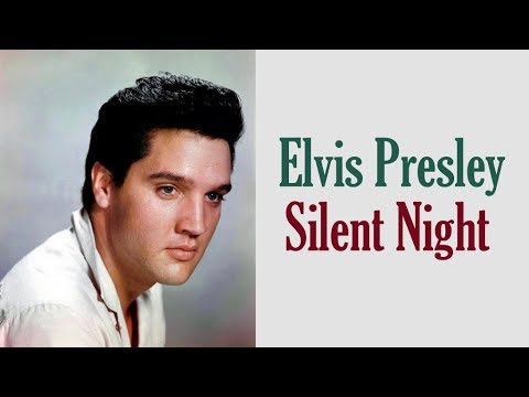 "Elvis Presley  ""Silent Night"""