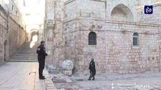 تأجيل فتح أبواب كنيسة القيامة في القدس المحتلة أمام المصلين (25/5/2020)