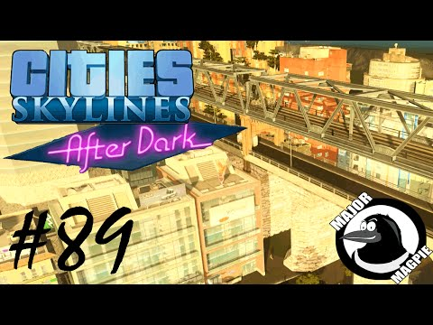 Cities Skylines Ep 89 - Train & Car StoneBridge