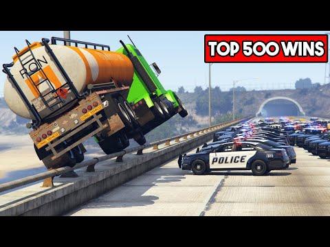 TOP 500 EPIC WINS IN GTA 5
