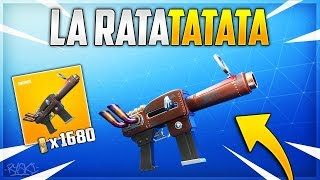 Fortnite: The New Pistol on Fortnite Save the World!! - ( Introducing The Ratatatata)