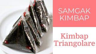 Kimbap Triangolare (Samgak Kim…