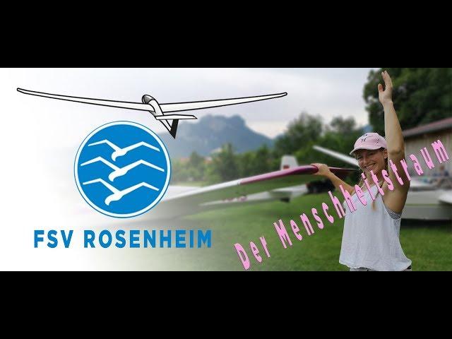 der Menschheitstraum - fliegen bei FSV Rosenheim