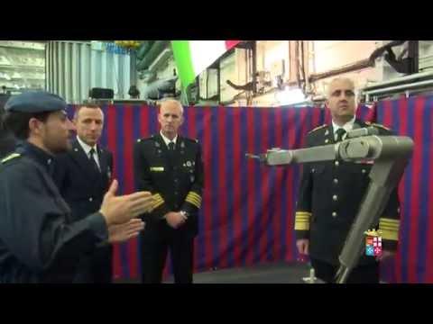 La Marina del Montenegro dà il benvenuto a Nave Cavour