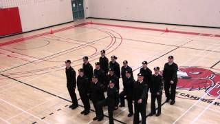 1596 Army Cadets Drill Team w/o Arms WOA Competition 2014