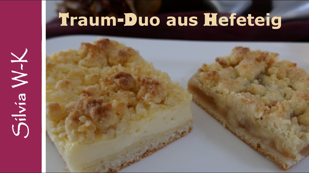 pudding streuselkuchen streuselkuchen mit apfelmus traumduo aus hefeteig youtube. Black Bedroom Furniture Sets. Home Design Ideas