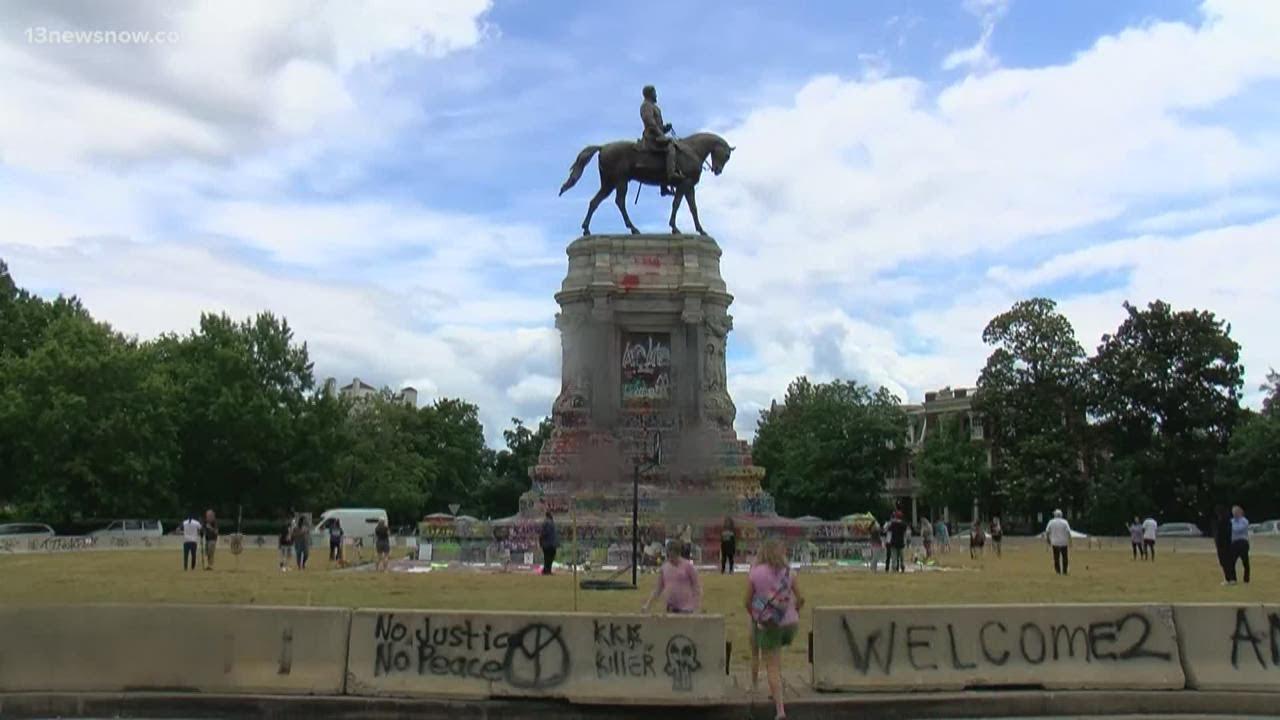 Virginia's Massive Robert E. Lee Statue Has Been Removed