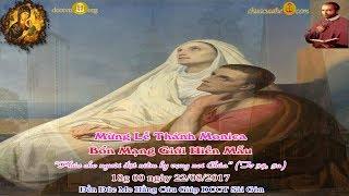 Mừng Lễ Thánh Monica Bổn Mạng Giới Hiền Mẫu - Đền Đức Mẹ Hằng Cứu Giúp DCCT Sài Gòn 2/08-2017