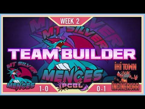Mt Silver Mences vs Iki Town Incineroar Teambuilder | PCBL S7 W2