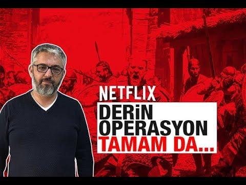 """Erem Şentürk : Netflix hakkında """"derin operasyon"""" dışında söyleyeceğiniz var mı"""