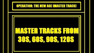War Commande: [Operation The New Age] [Master Tracks 1-4]